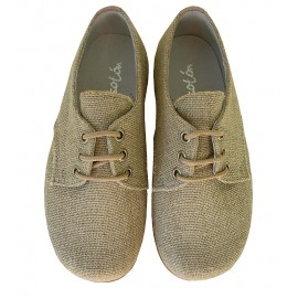 Blucher lino natural