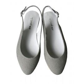 Sandalia lino gris