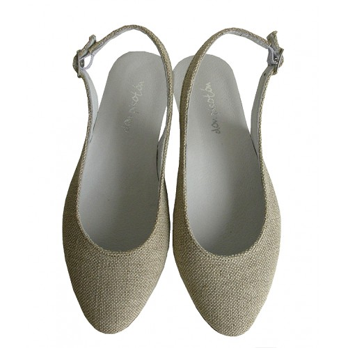 Sandalia lino.