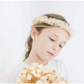 Corona flores secas.