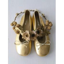 Bailarina oro.