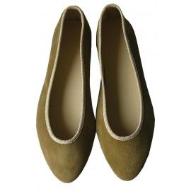 Bailarina kaki-oro