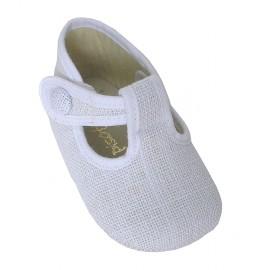Pepito bebé lino blanco.