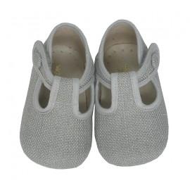 Pepito bebé lino gris.