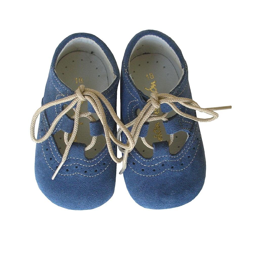 e466dcaee0fb7 zapato ingles bebe azul