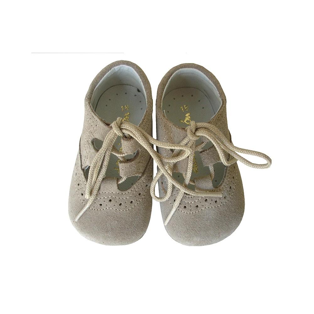 54956ad6928 Inglesito bebé piedra. - Calzado infantil - Zapatos para niños - Don Pisotón