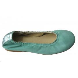 Bailarina gomas verde agua