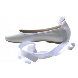 Bailarinas cintas blancas