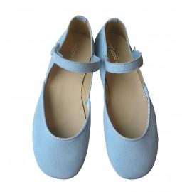 Sandalia azul