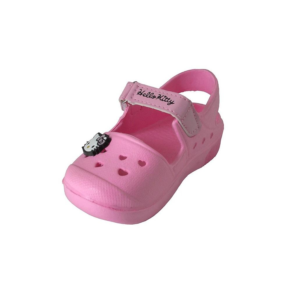 Sandalia Hello Kitty rosa , Calzado infantil , Zapatos para niños , Don Pisotón