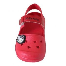 Sandalia Hello Kitty rojo