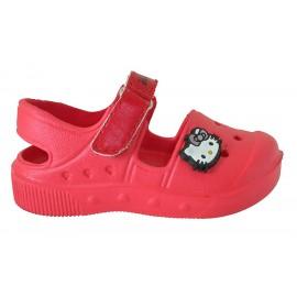 Sandalia Hello Kitty rojo