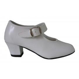Zapatos tacón blanco