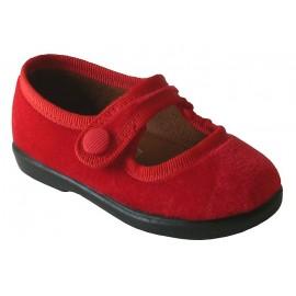 Terciopelo rojo primeros pasos