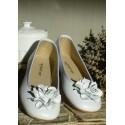 Bailarina flor blanca