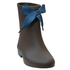 Botas de agua taupe-azul