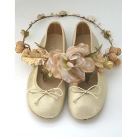 Bailarina piel oro