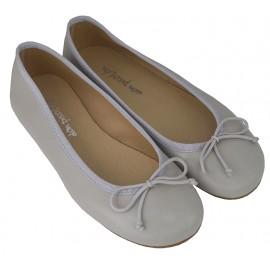 Bailarina gris basic.