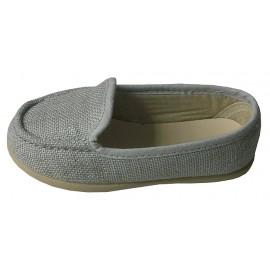 Mocasín lino gris