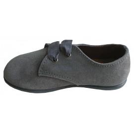 Blucher serraje gris